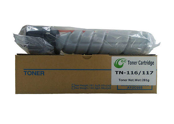 China 164 / 184 Black Laser Toner Cartridge , Konica Minolta Bizhub Toner Cartridge 281g supplier